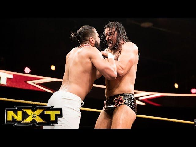 "Drew McIntyre vs. Andrade ""Cien"" Almas: WWE NXT, April 26, 2017"