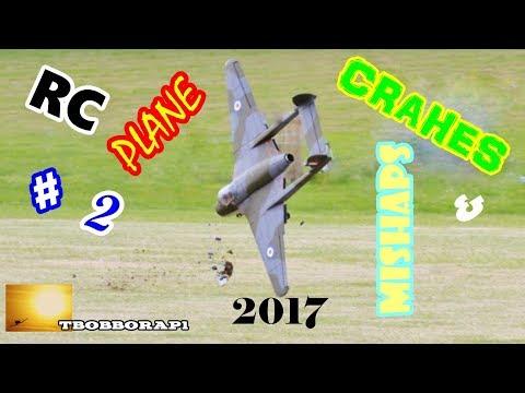 RC PLANE CRASHES & MISHAPS COMPILATION 2 TBOBBORAP1 2017