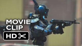 Chappie Movie CLIP - Not My Fault (2015) - Hugh Jackman Robot Movie HD