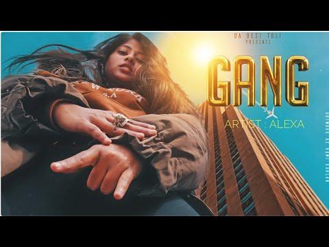 Xxx Mp4 GANG ALEXA INDIAN FEMALE RAPPER HINDI RAP SONG 2019 DA DESI TOLI 3gp Sex