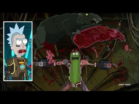 Rick and Morty Rick s body transformation scenes