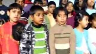 Ak bacchader pre-rehearsal song 'Amader deshta sopnopuri'