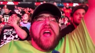 WWE ROYAL RUMBLE 2018 REACTIONS! PORTA POTTY PARKING LOT MATCH FAN MEET UP VLOG!