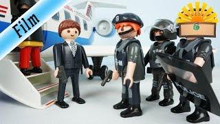 SEK EINSATZ am FLUGHAFEN! Gelingt die FLUCHT?  FAMILIE Bergmann #138 - Playmobil Film deutsch