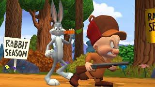 Pernalonga e seus amigos do desenho no jogo Looney Tunes Dash grátis para Android