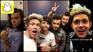 One Direction - Snapchat Video Compilation (Best 2016★)