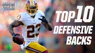 Top 10 Defensive Back Prospects Since 2001 | Bucky Brooks | Move the Sticks | NFL