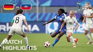 Germany v. Haiti - FIFA U-20 Women's World Cup France 2018 - Match 23