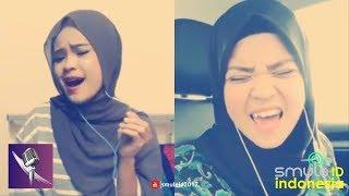SUARA KOK BISA KEREN GINI YA !  Nike Ardilla  - Bintang Kehidupan (Smule by Diera ft. Izni Farok)
