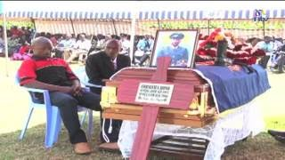 One of the six officers slain in the Kapenguria attack laid to rest