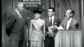 You Bet Your Life Groucho Marx (1955)