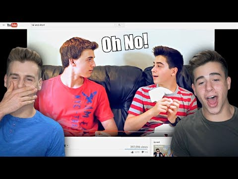 Reacting To Our First Video We Ever Made