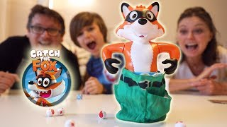 Catch the FOX Family Game Toy Review
