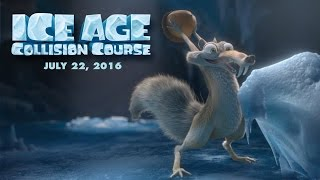 Ice Age 5- Collision Course - Scrat In Space -Trailer (2016) [HD]
