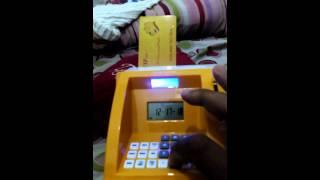 Cara Menggunakan Celengan ATM bagian 1
