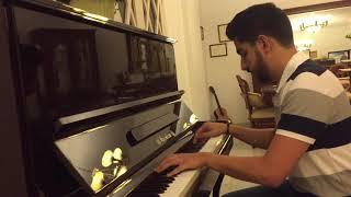 اغنية مسلسل ومشيت - بيانو                                         Wmshit series - piano cover