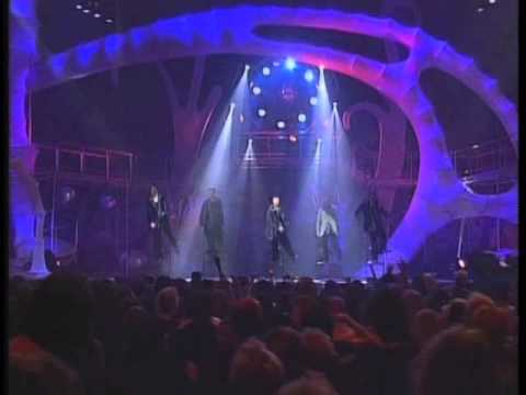 Backstreet Boys As long as you love me & Everybody Live MTV EMA 1997