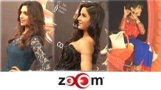 Deepika, Katrina, Priyanka at an award show