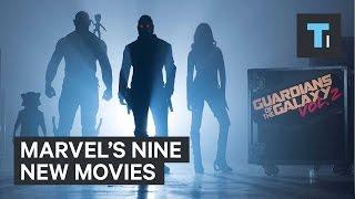 Marvel's 9 new movies