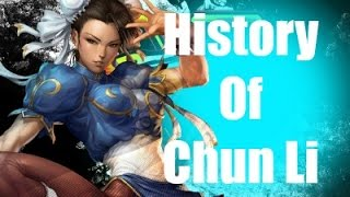 History Of Chun Li Street Fighter V