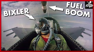 F-16 AIR-TO-AIR REFUELING RIDE-ALONG   FLITE TEST
