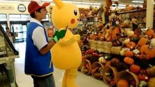 pokemon go in real life pikachu  ash