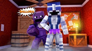 WHO IS THE PURPLE GUY? - MINECRAFT FNAF SISTER LOCATION (Roleplay)
