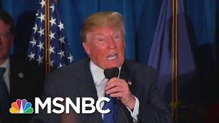 Racist Trump Spectacle Distracts From Other Damaging Trump News   Rachel Maddow   MSNBC