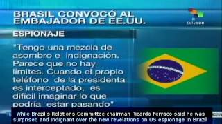 Mexico and Brazil ask US to explain if NSA spied on presidents