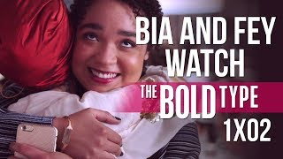 Bia and Fey watch THE BOLD TYPE | 1x02