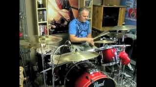Rock & Roll - Led Zeppelin - Drum Cover By Domenic Nardone