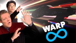 INSANE Warp Speeds Compared (Transwarp, Slipstream, Spore Drive, etc)