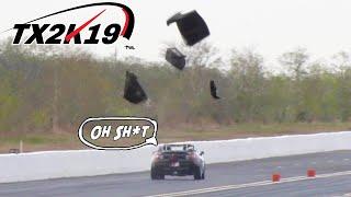 "Honda ""Supra"" BLOWS roof into PIECES! | TX2K19 Day 1"