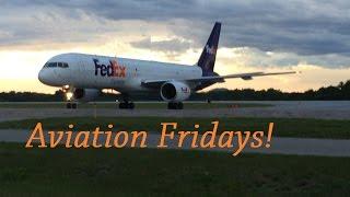 FedEx 757! Aviation Fridays!