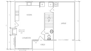 DRAW FLOOR PLAN WITH AUTOCAD