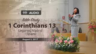 Audio Bible study – 1 Corinthians 13: