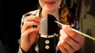 ASMR Rough Microphone Scratching
