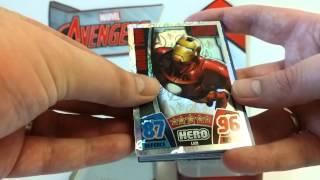 Marvel Avengers Hero Attax Topps Tin