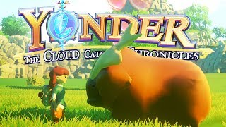 Yonder - Ep. 1 - Slime Rancher Meets Stardew Valley! - Yonder: The Cloud Catcher Chronicles Gameplay
