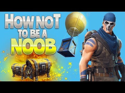 HOW NOT to be a NOOB Fortnite Battle Royale rhinoCRUNCH
