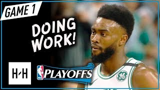 Jaylen Brown Full Game 1 Highlights vs Cavaliers 2018 NBA Playoffs ECF - 23 Pts, 8 Reb in 3 Qtrs!