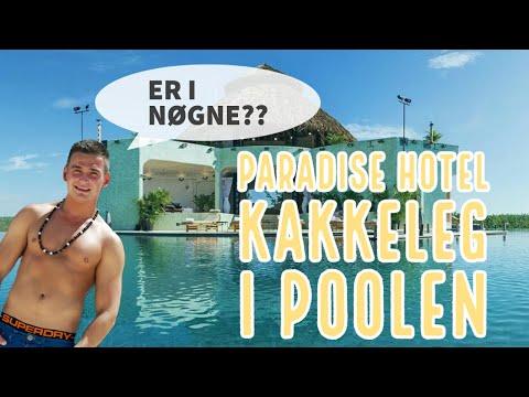 Paradise Hotel Sæson 9 Kakkeleg i poolen