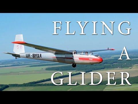 Flying a Glider L-13 Blanik