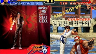 SAGA THE KING OF FIGHTERS 96 ! MUITAS MUDANÇAS
