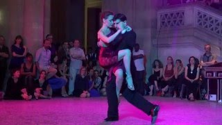 Magdalena GUTIERREZ and Germán BALLEJO @ Bordeaux Cite Tango Festival 2016 1/3