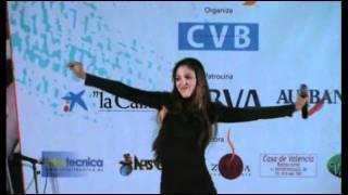 Concierto de Tahis en la presentación de la revista CVB de