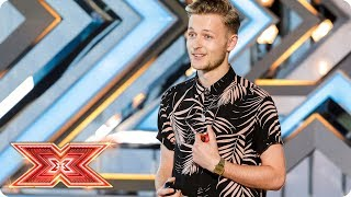 Arriba! We all want to go to Mexico with Jordan Rabjohn | Auditions Week 1 | The X Factor 2017