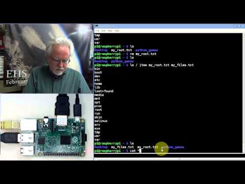 Raspberry Pi Linux LESSON 14: Using Linux Tee Command