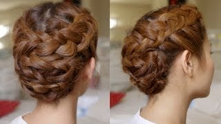 Hair Tutorial: Summer Braided Updo