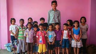 World's Tallest 8-Year-Old